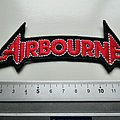 Airbourne shaped patch a5