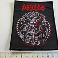 Deicide vintage 1990 patch d42 very rare  10 x 12 cm