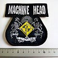 Machine Head shaped patch m67