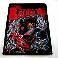 Brutality - Patch - BRUTALITY patch B155   - 7.5 X 10 cm