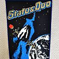 Status Quo - Patch - STATUS QUO 1981 vintage back patch bp188 37X29X24 new