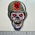 D.R.I. dirty rotten imbeciles embleem shaped patch d292