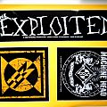 stickers , machine head, the exploited off. merchandise 1393