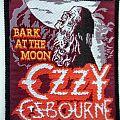 Ozzy Osbourne - Patch - OZZY OSBOURNE vintage 1984 patch 34 very very rare    8.5x9.5 cm