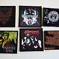 rock/metal emblemen patches part 14 photo print patch 2€ new