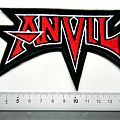 Anvil - Patch - ANVIL shaped patch a192 new