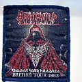 Hawkwind - Patch - HAWKWIND USED PATCH british tour 1982 very very rare 8.5x10cm sliver lettering