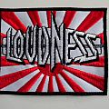 Loudness - Patch - loudness  patch  l59 new 8 x 10 cm