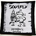 SOULFLY  patch 38  9X9 cm 2004 new