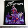 Sanctuary - Patch - SANCTUARY patch  s59 new silver print  refuge denied