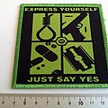 Type O Negative embleem  patch t 222 just say yes