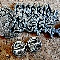 Morbid Angel  metal shaped pin  badge new