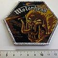 Motorhead ltd. edition patch 171 + silver glitter logo + border