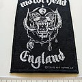 Motorhead England patch used685