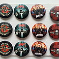 Asking Alexandria - Pin / Badge -  Asking Alexandria, Avenged Sevenfold new buttons 3.1 cm   b49