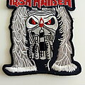Iron Maiden - Patch - Iron Maiden  shaped  patch  32