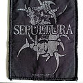 Sepultura  official 2012 patch used626