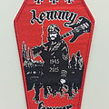 Lemmy - Patch - LEMMY forever coffin patch 199 red border . limited to 150 copys