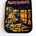 Iron Maiden - Patch -  Iron Maiden 1983 piece of mind patch 125   -7.5x10 cm