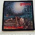 Baphomet - Patch - Baphomet the dead shall inherit  patch b59  printed