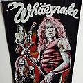Whitesnake - Patch - Whitesnake 80's backpatch bp322  new patch 24x32x36 cm