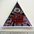 Death - Patch - Death - Symbolic triangle patch d330  white border