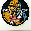 Iron Maiden - Patch -  Iron Maiden official 1983 piece of mind  patch 46