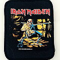 Iron Maiden - Patch - Iron Maiden Piece Of Mind  patch 41  official 1983 new 8.5X10.5 cm