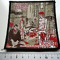 Cannibal Corpse gallery of suicide  patch C84  ---- 2001 patch new 10x10cm