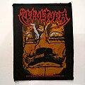 Sepultura - Patch - Sepultura Aztec Mask  official 1992  patch 22  s