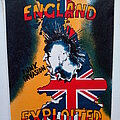 The Exploited - Patch - The Exploited  80's punk invasion backpatch bp382