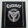Coroner - Patch - Coroner band members official 1990 patch c270