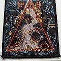 Def Leppard - Patch - Def Leppard Hysteria  1987 patch used764--- 8.5 x 10 cm