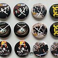 Disturbed - Pin / Badge - various new buttons 3.1 cm   b44