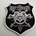 Bolt Thrower - Patch - Bolth Thrower  shaped patch b300 --9x10 cm