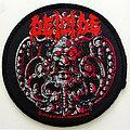 Deicide - Patch - Deicide official 1990 Medaillon patch d312--  9.5 cm