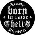 Lemmy - Patch - Lemmy  born to raise hell backpatch bp391  patch 28 cm