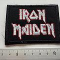 Iron Maiden - Patch - Iron Maiden    patch 340--6 X 8 cm