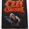 Ozzy Osbourne bark at the moon patch 30  size 8.5 x 10 cm