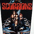 Scorpions 1990 backpatch bp136 --30 x 25 x 35 cm patch