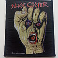 Alice Cooper - Patch - Alice Cooper Raise Your Fist and Yell official 1989 patch c271