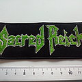 Sacred Reich - Patch - Sacred Reich patch s357-- 5 x 12 cm