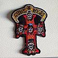 Guns N' Roses - Patch -  Guns N' Roses  shaped patch used579-- - 8 x 11 cm