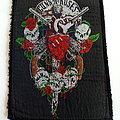 Guns N' Roses - Patch - GUNS N' ROSES  80's patch used536-- 13.5x10 cm