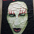 Marilyn Manson - Other Collectable - Marilyn Manson 2001   poster flag no 9141----75 x 110 cm