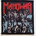 Manowar - Patch -  Manowar Fighting The World 1987 patch m360