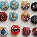 Saxon - Pin / Badge - various buttons  b4
