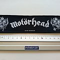 Motörhead strip patch 7 official 2010  new size 5.5 x20  cm