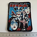 Kiss patch 3 very rare 80's 10 x7.5 cm new