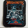 Megadeth launch vintage 1990 patch19 round corners